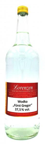 """Wodka """"Fürst Gregor 37,5% vol. deutsches Erzeugnis lose vom Fass"""""""