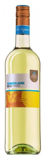 Sommerlaune Cuvee weiß QbA fruchtig Winzer Sommerach 0,75 l