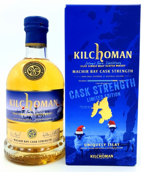 "Kilchoman ""Christmas "" Machir Bay 58,6%vol. 0,7 l Islay Single Malt Whisky"""