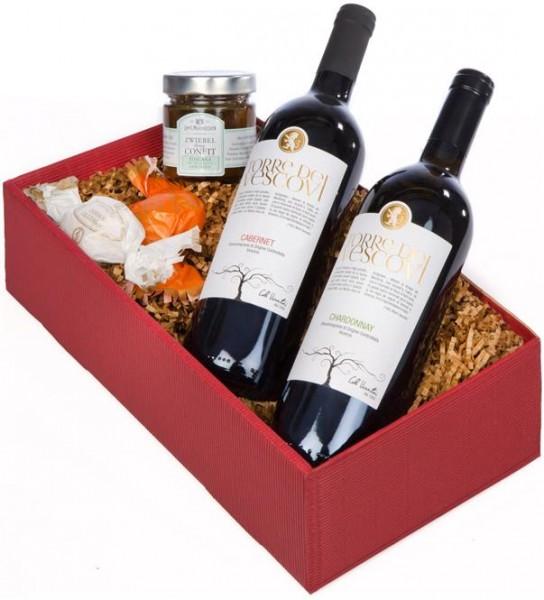 Weinpräsent Dolce Vita 2 ital. Weine, Confit & Dolci