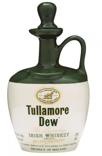 Tullamore Dew Keramik-Krug 40% vol Irish Whisky 0,7 l