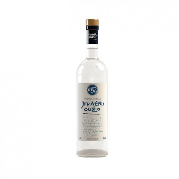 Ouzo Jivaeri 40% vol. 0,7 l Ältester Ouzo der Welt seit 1856, Greece
