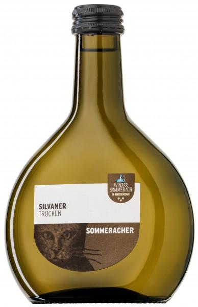 Silvaner QbA trocken Winzer Sommerach 0,25 l Mini-Bocksbeutel