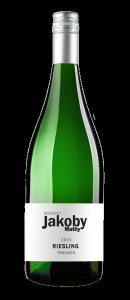 Weingut Jakoby Mathy Riesling trocken 1,0 l