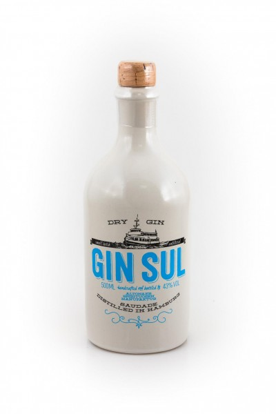 Gin Sul London Dry 43% vol. Handcrafted aus Hamburg 0,5 l
