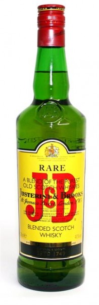 J & B Rare Blended Scotch Whisky 40% vol. 0,7 l