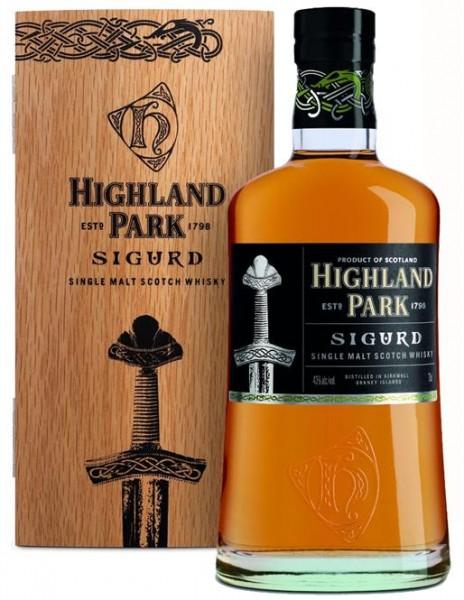 Highland Park Sigurd Orkney Highland Malt 43% vol. 0,7 l