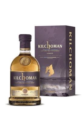"Kilchoman ""Sanaig"" 46%vol. 0,7 l Islay Single Malt Whisky"