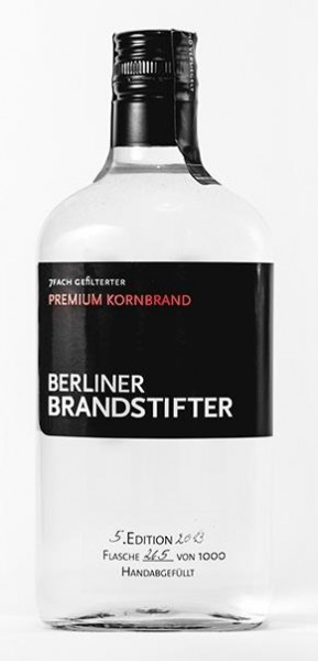 Berliner Brandstifter Premium Kornbrand 38% vol. 0,7l