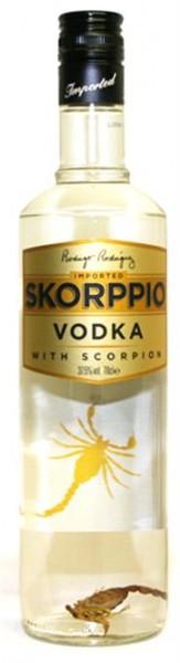 Skorppio Vodka 37,5% 0,7 l aus Großbritanien mit echtem Skorpion