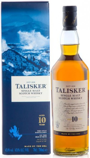 Talisker 10 Jahre Isle of Skye Single Malt 45,8% vol. 0,7 l
