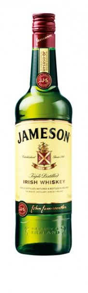 Jameson 40% vol. Irish Whisky 0,7 l