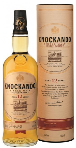 Knockando 12 Jahre 43% vol. Speyside Single Malt 0,7 l