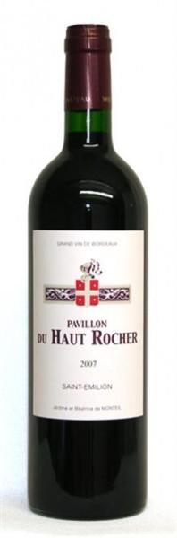Pavillon du Haut Rocher Saint Emilion AOP Bordeaux 0,75 l