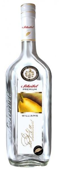 Scheibel Williams Birne Premium 0,7 l 40% vol.3 J.gelagert.2-fach destilliert