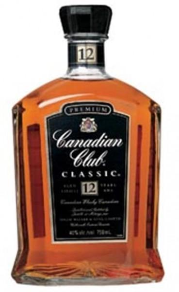 Canadian Club Classic 12 Jahre 40% vol. 0,7 l