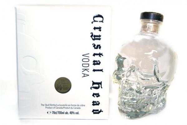 Crystal Head 40% vol. Kanadischer Wodka 0,7 l