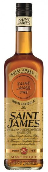 Saint James Royal Ambra 40% vol. Rhum Martinique 0,7 l