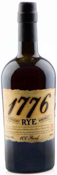 1776 Rye Whisky 50% vol. aus Kentucky, 0,7 l