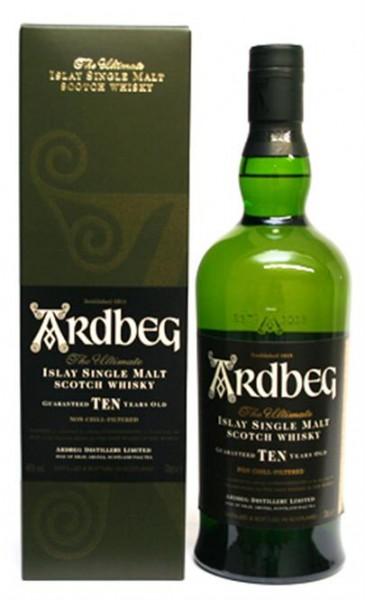 Ardbeg Ten Years Old 46% vol. Islay Single Malt Scotch Whisky 0,7 l