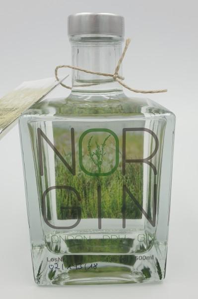 NORGIN, London Dry Gin, 43% vol. 0,5l