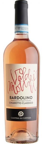Bardolino Rose, Custoza Val dei Molini, Chiaretto Classico DOC 0,75l
