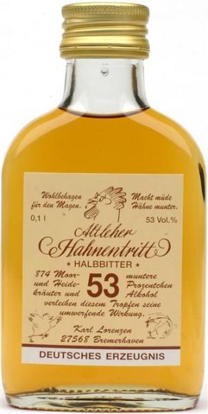 Altleher Hahnentritt 53% vol. unser original Kräuterhalbbitter 0,1 l