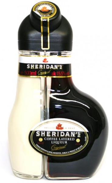 Sheridan's Irish Liqueur 17+19,5% vol. Original Double Liqueur 0,5 l