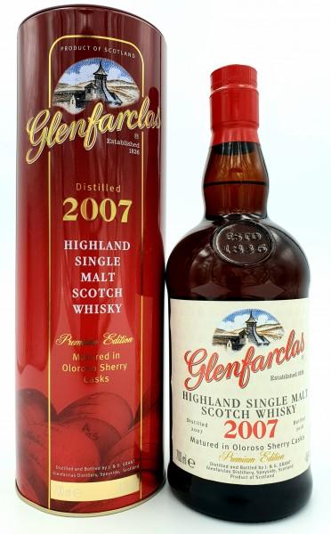 Glenfarclas 2007 Vintage 46% vol. Single Highland Malt 0,7 l