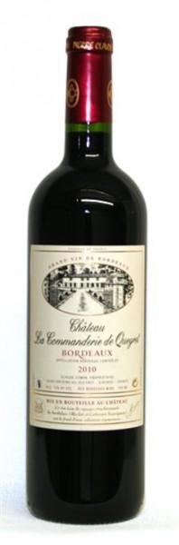 Chateau La Commanderie de Queyret Bordeaux Supérieur AC Rouge 0,75 l
