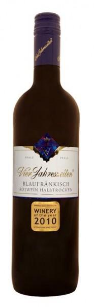 Blaufränkisch QbA Rotw. halbtrock Vier Jahreszeiten Pfalz 0,75 l