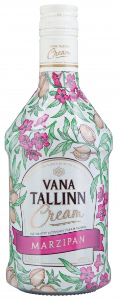 Vana Tallinn Marzipan Cream 16% vol. Rumlikör aus Estland. 0,5l