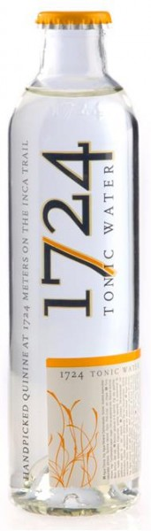 Tonic Water 1724 Inca Trail Aperitif 0,2 l, alkoholfrei