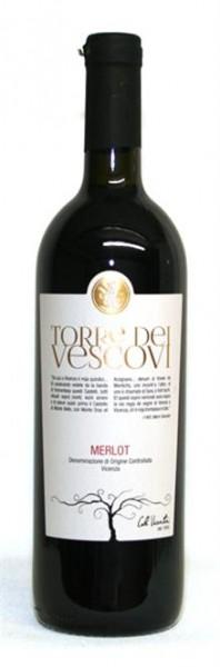 Merlot Torre dei Vescovi Vicenza DOC Veneto 0,75 l