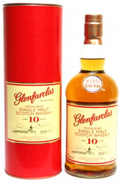 Glenfarclas 10 Jahre 40% vol. Highland Single Malt 0,7 l