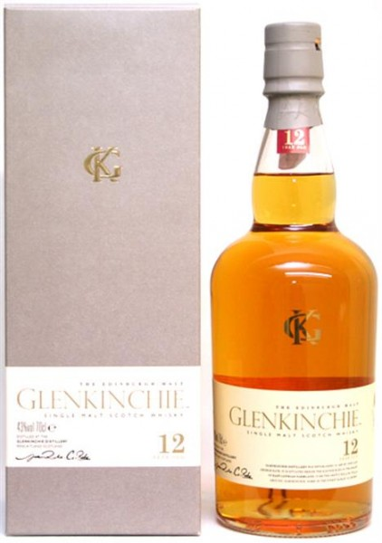 Glenkinchie 12 Jahre 43% vol. Lowland Malt Whisky 0,7 l