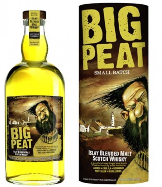 Big Peat Blended Islay Malt Whisky 0,7 l 46% vol.