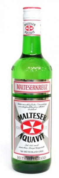 Malteserkreuz Aquavit 40% vol. der beliebte aus Deutschland 0,7 l