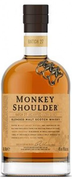 Monkey Shoulder 40% vol. Blended Scotch 0,7 l