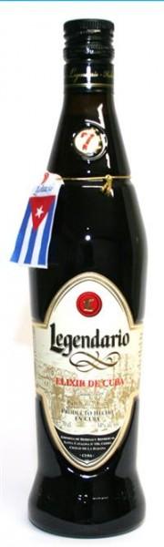 Legendario Elixir de Cuba 34% Vol. RON DULCE - 7 Jahre 0,7 l