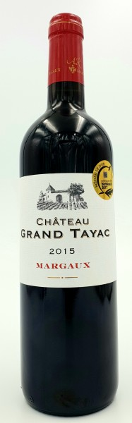 Chateau Grand Tayac 2015 AC Margaux Grand Vin de Bordeaux, Frankreich 0,75 l
