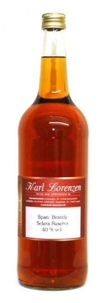 Spanischer Brandy Solera Reserva 40% vol. lose vom Fass