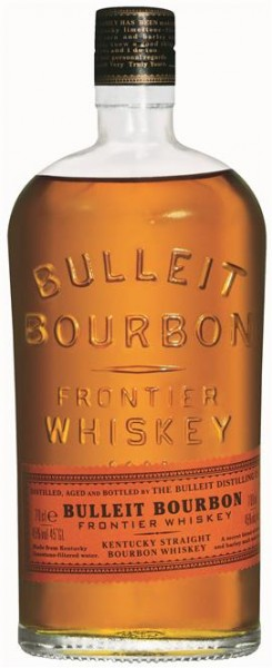 Bulleit Bourbon Whiskey 40% vol. Kentucky Straight Bourbon 0,7 l