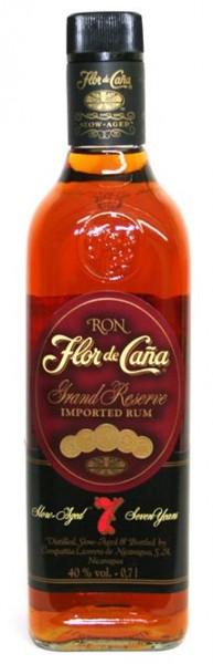 Flor de Cana Gran Reserva 40% vol. 7 Jahre Rum aus Nicaragua 0,7 l