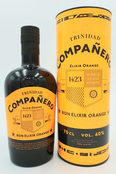 Companero Ron Elixir Orange 40% vol. 0,7l