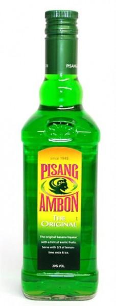 Pisang Ambon 20% vol. Grüner Bananen-Likör 0,7 l
