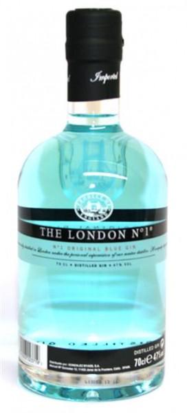London Gin No.1 47% vol., Original Blue Gin 0,7 l