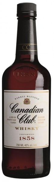 Canadian Club 6 Jahre 40% vol. Canadian Whisky 0,7 l
