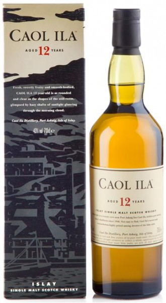 Caol Ila 12 Years Old, 43% vol. Islay Scotch, Single Malt, 0,7 l