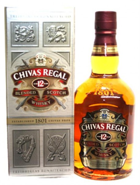 Chivas Regal 12 Jahre 40% vol. Blended Scotch Whisky 0,7 l